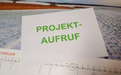 PROJEKTAUFRUF – 1. Projektauswahlverfahren 2018