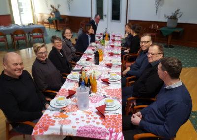 Mittagessen im Landhaus Arnimshain