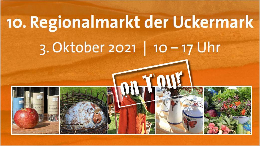 Herzlich willkommen zum 10. Regionalmarkt der Uckermark!